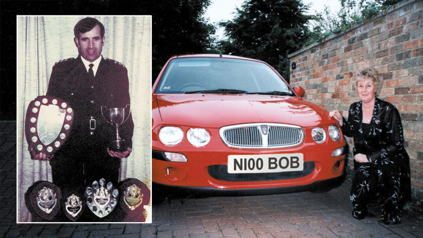 Bob and Nichola Dix with N100 BOB