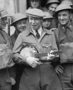 George Formby with the army in France 1940 GF 1 private number plate