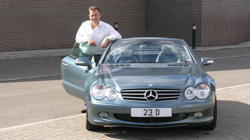 Duncan Bannatyne with 23 D