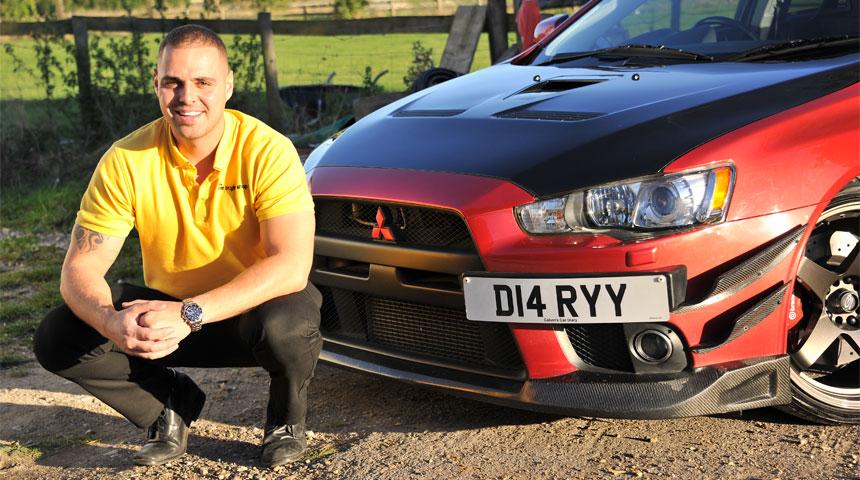 Calvin Fehr with D14 RYY