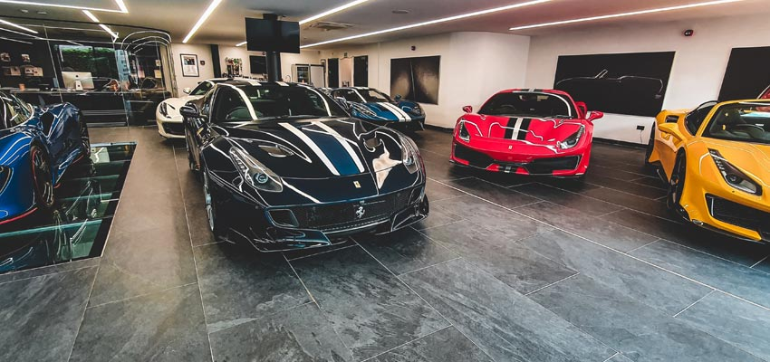 Assortment of Ferraris