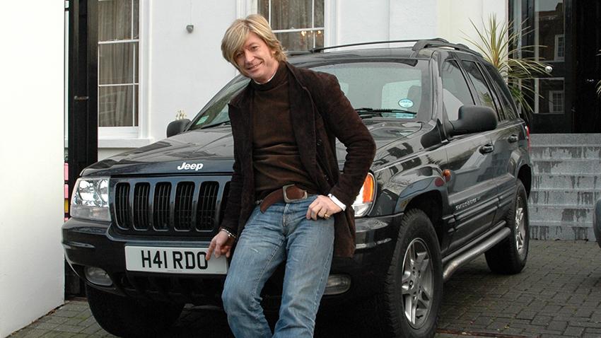 Nicky Clarke with H41 RDO