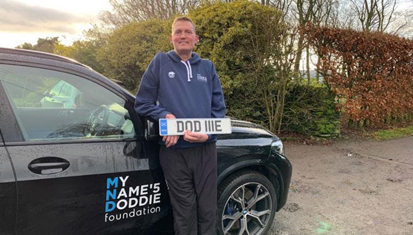 Doddie Weir with DOD 11E