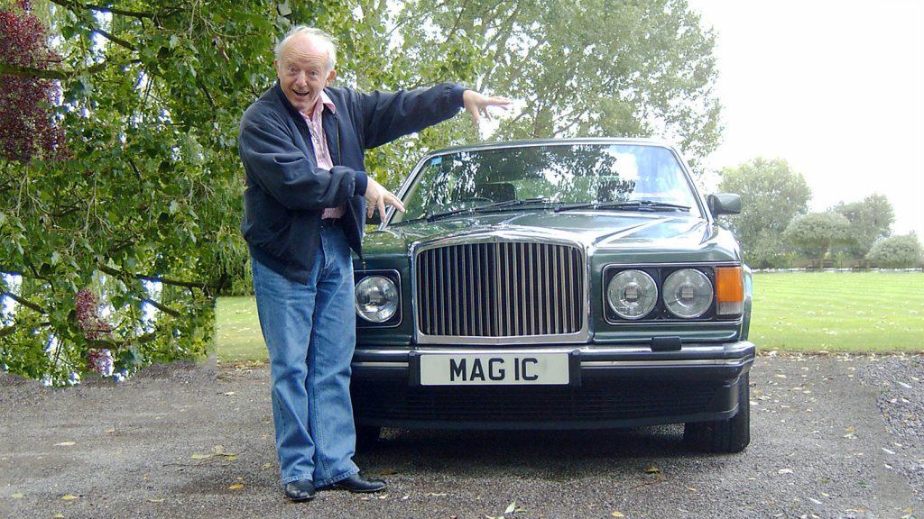 Paul Daniels with MAG 1C