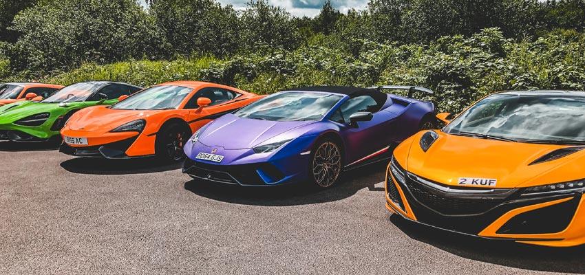 McLaren and Lamborghini
