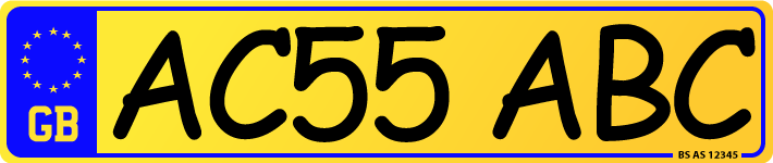 'Charles Wright' plate