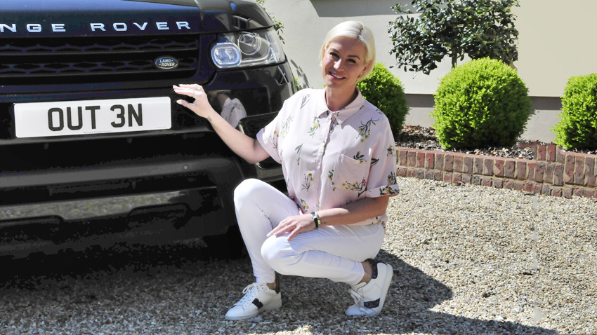 Denise van Outen with OUT 3N