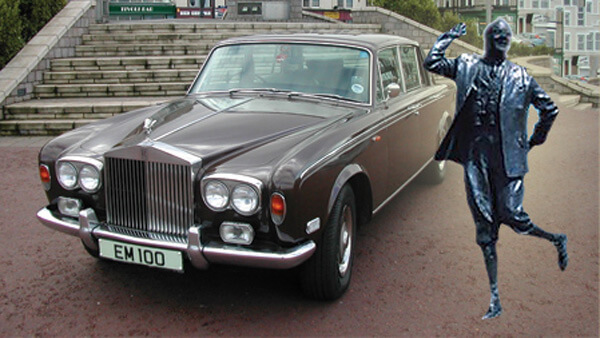 Eric Morcambe's Rolls Royce and Plate Sold