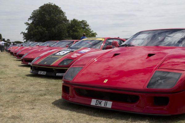 Ferrari Rally Marlow Danesfields House