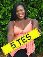 Tessa Sanderson 5 TES