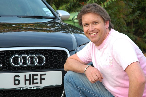 James Martin with 6 HEF