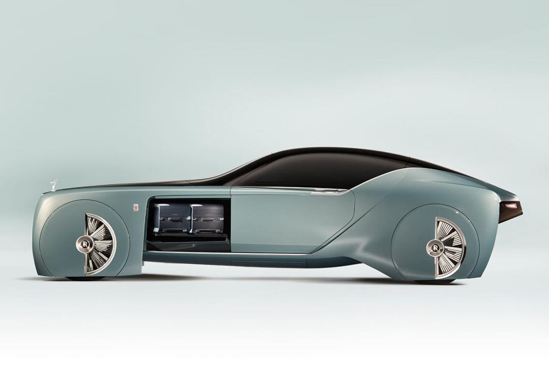 Rolls Royce Vision Concept Car